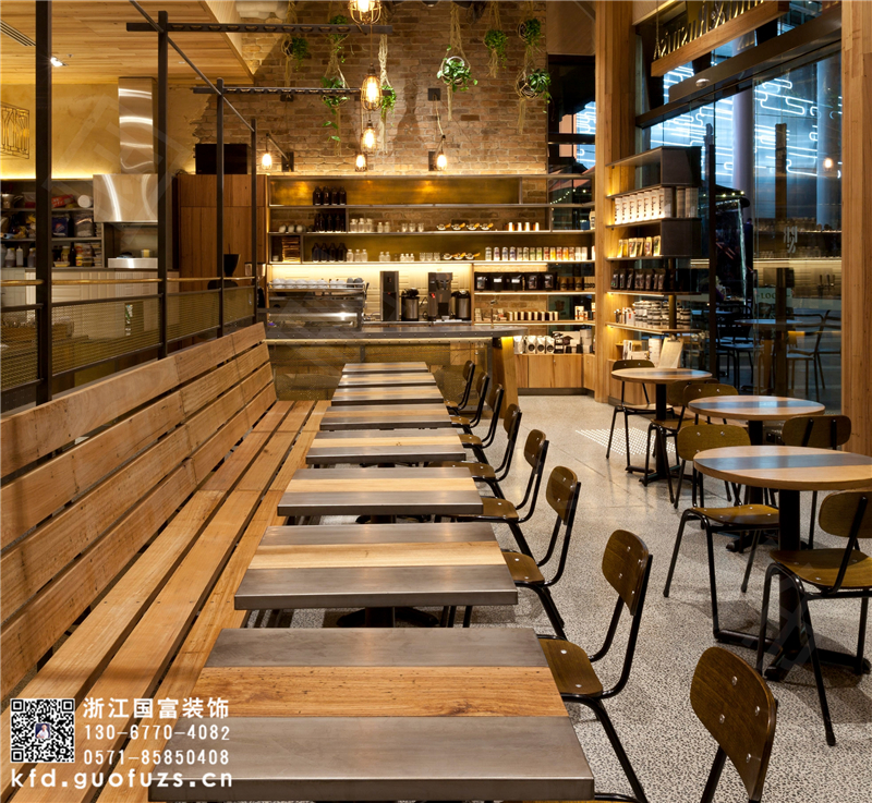 杭州咖啡厅吧台设计