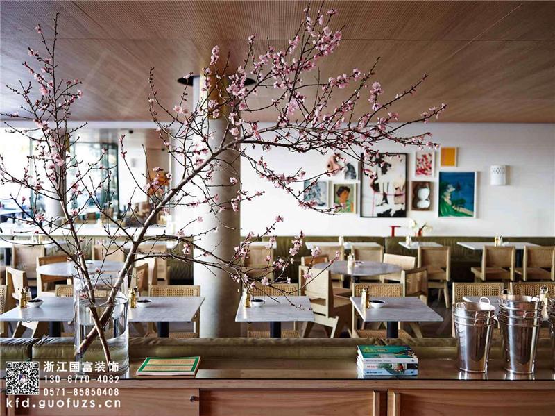 杭州余杭区咖啡店装修设计公司_咖啡店设计装修效果图