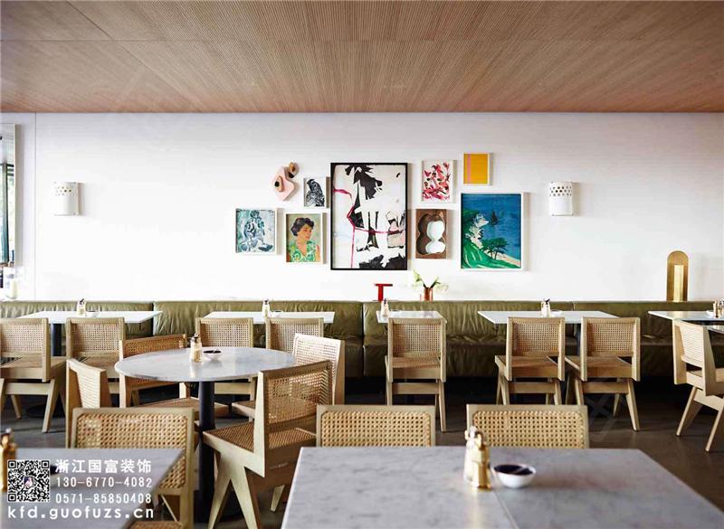 杭州拱墅区咖啡店装修设计公司_咖啡店设计装修效果图