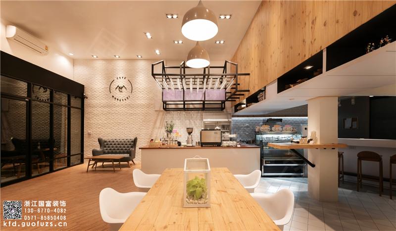 杭州西湖区咖啡店装修设计公司_咖啡店设计装修效果图